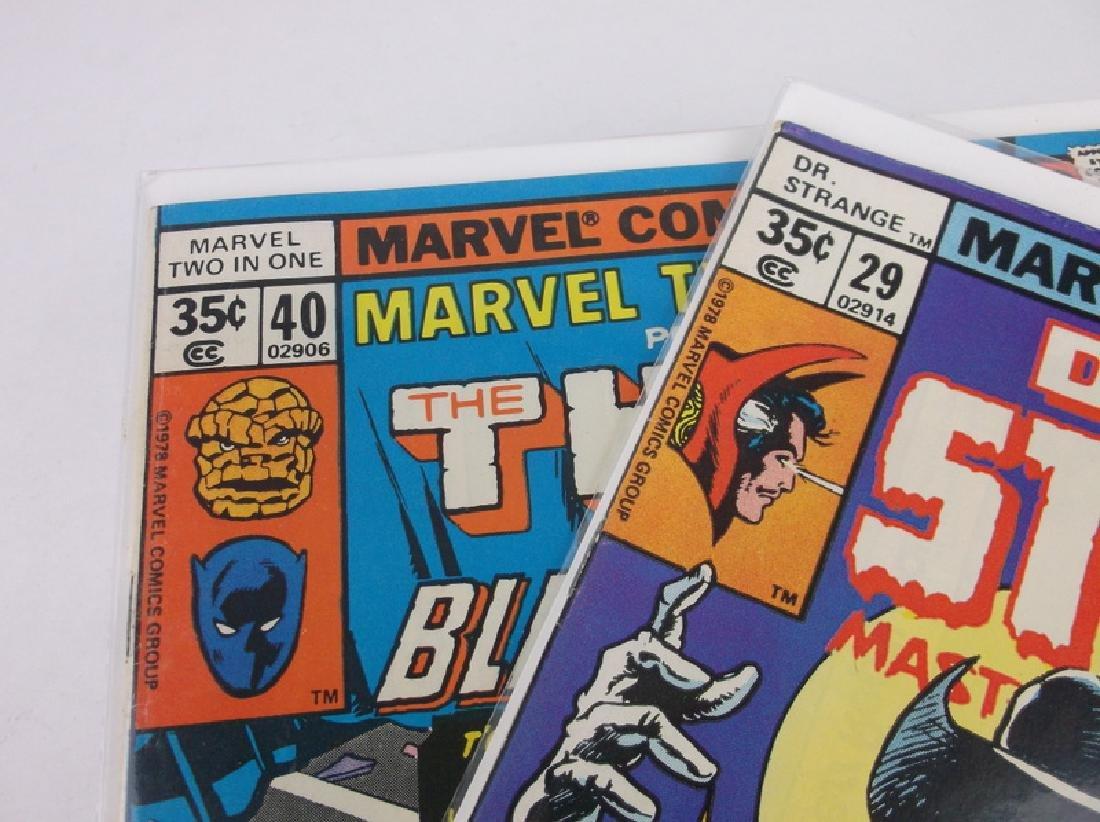 2 Nice 1978 Black Panther Dr Strange Comics - 2