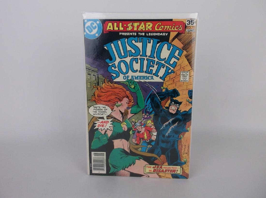 Nice 1978 DC Justice Society Comic Book