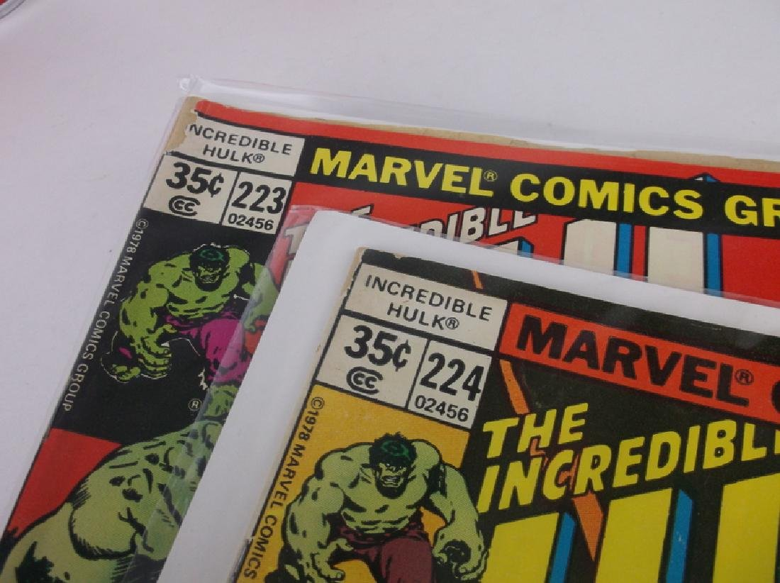 2 1978 Incredible Hulk Comic Books Marvel - 2
