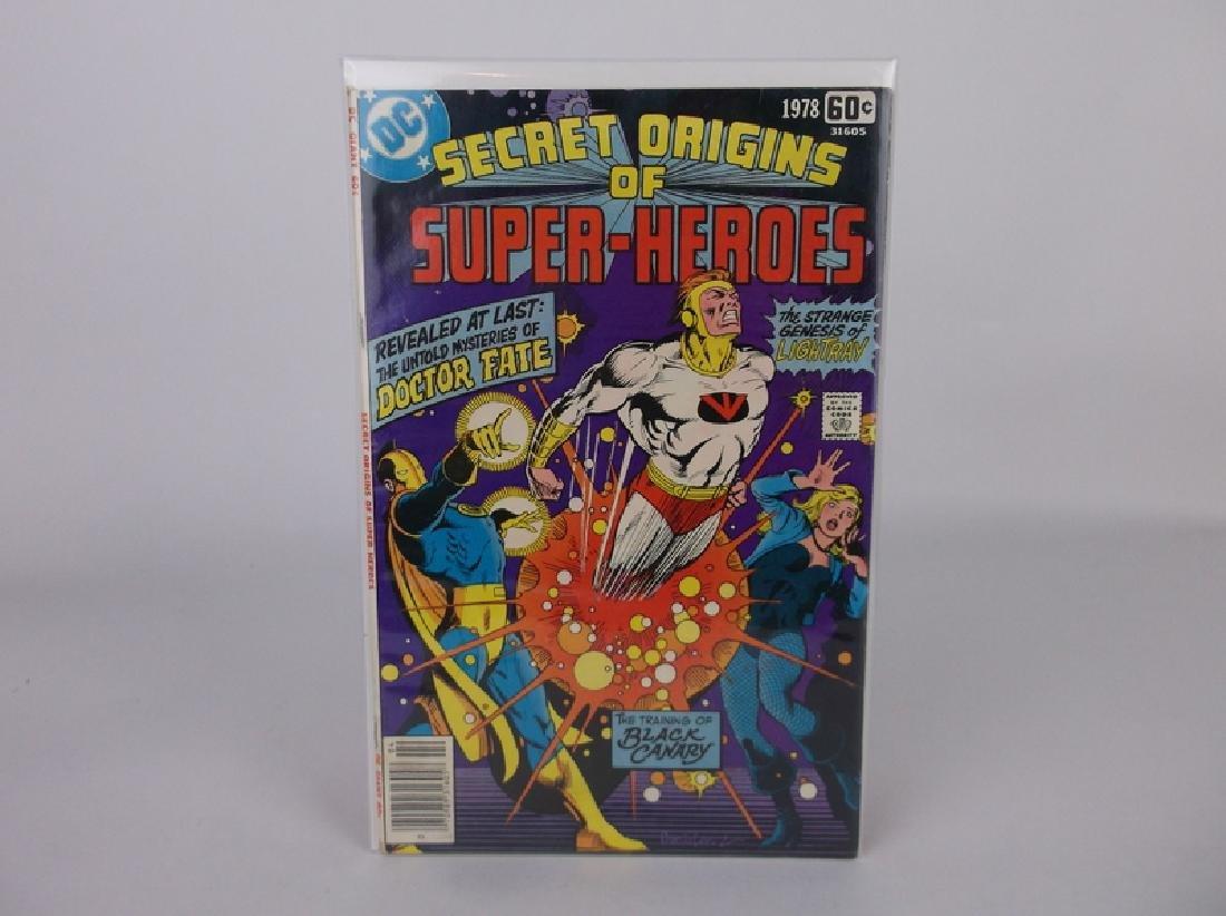 Nice 1978 DC Origin Superheroes Comic Book