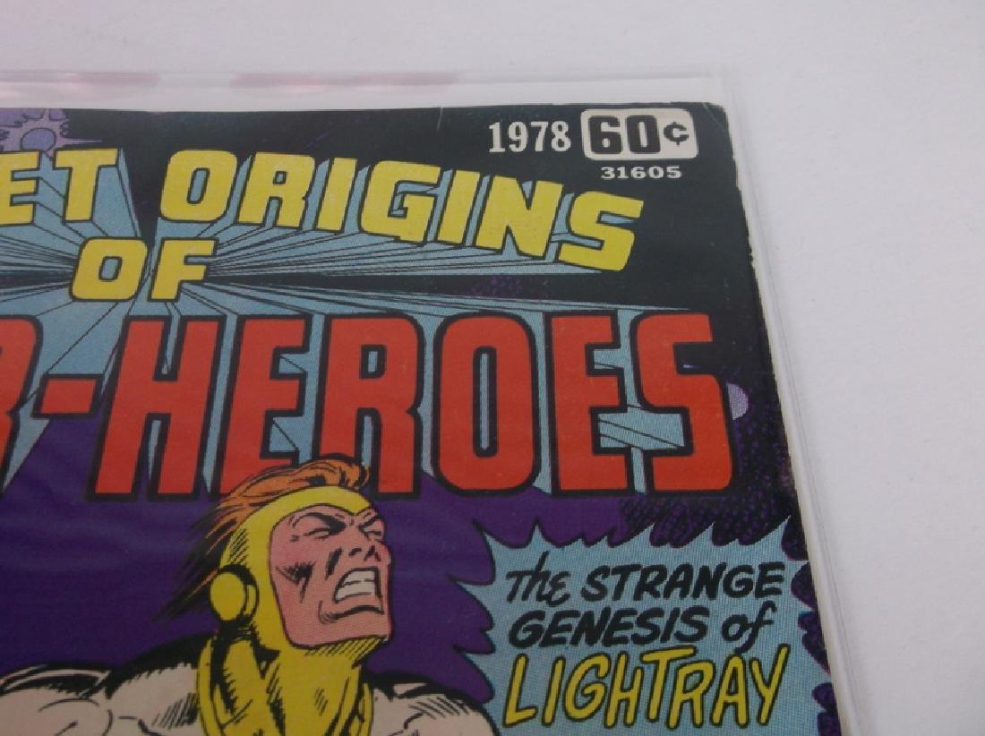 Nice 1978 DC Origin Superheroes Comic Book - 2