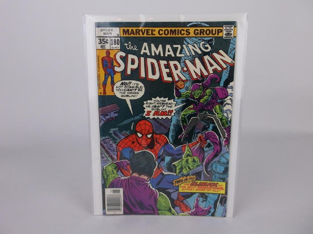 Nice 1978 Amazing Spiderman Comic Book #180