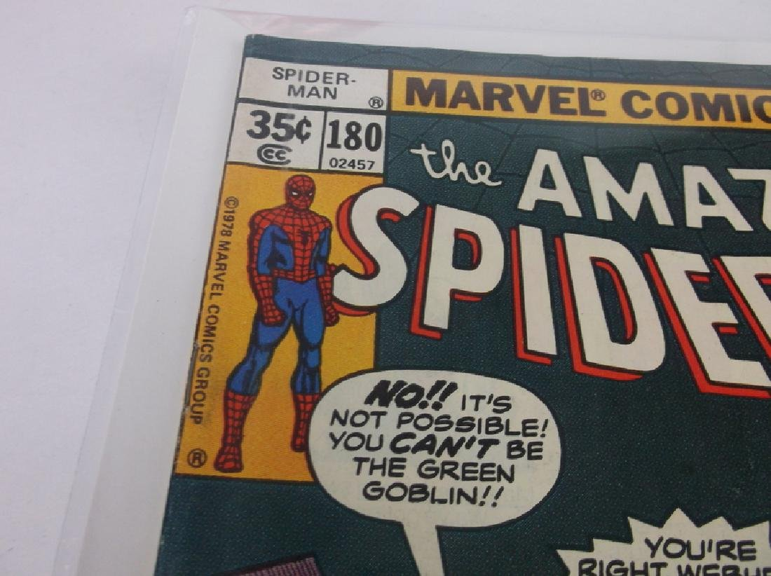 Nice 1978 Amazing Spiderman Comic Book #180 - 2