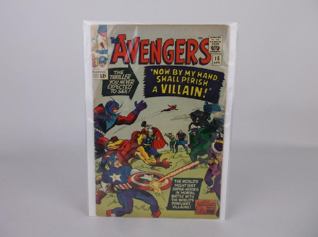 Nice 1965 The Avengers Comic Book #15 Zemo Death