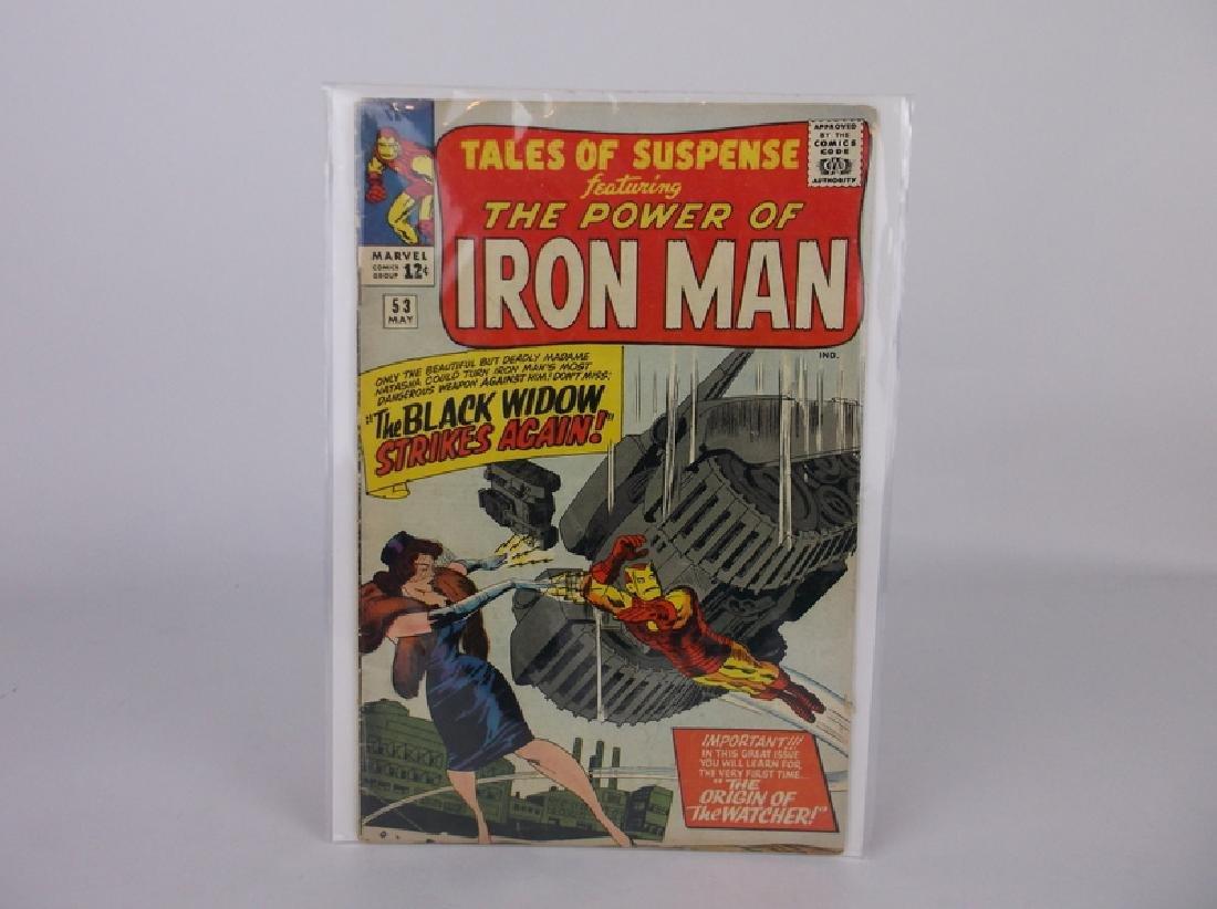 1964 Tales of Suspense Comic Book #53 Iron Man