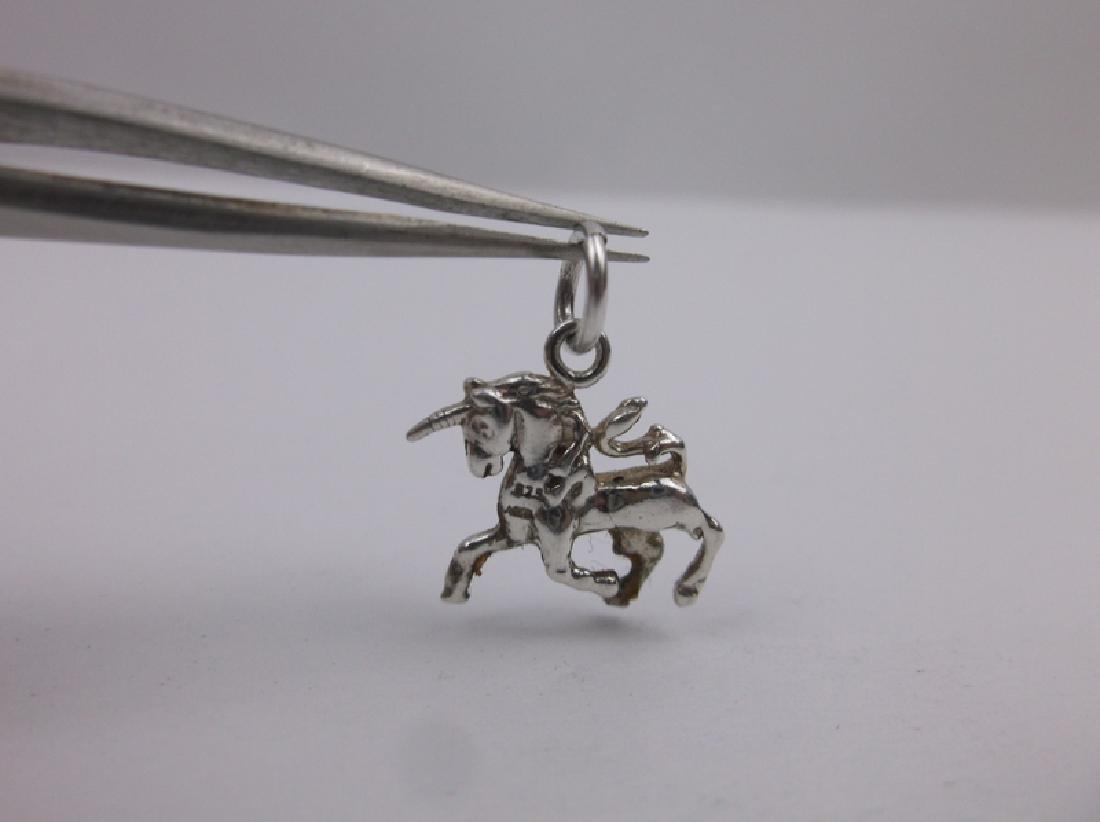 Stunning Sterling Silver Unicorn Charm