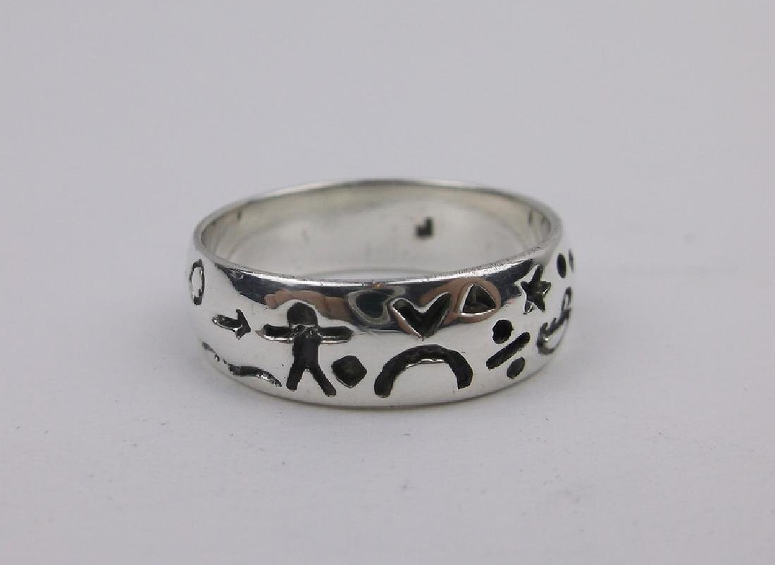 Gorgeous Sterling Silver Storyteller Ring 6