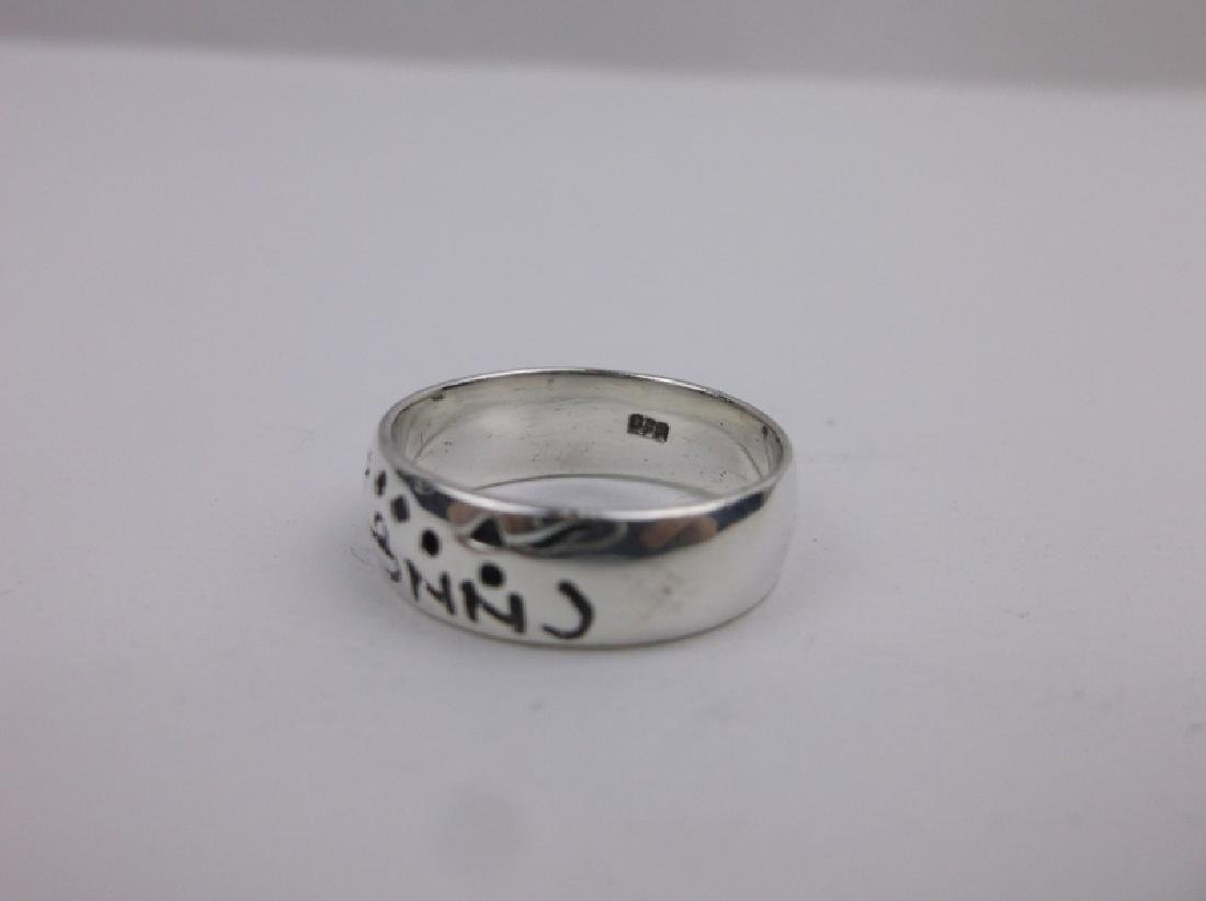 Gorgeous Sterling Silver Storyteller Ring 6 - 2