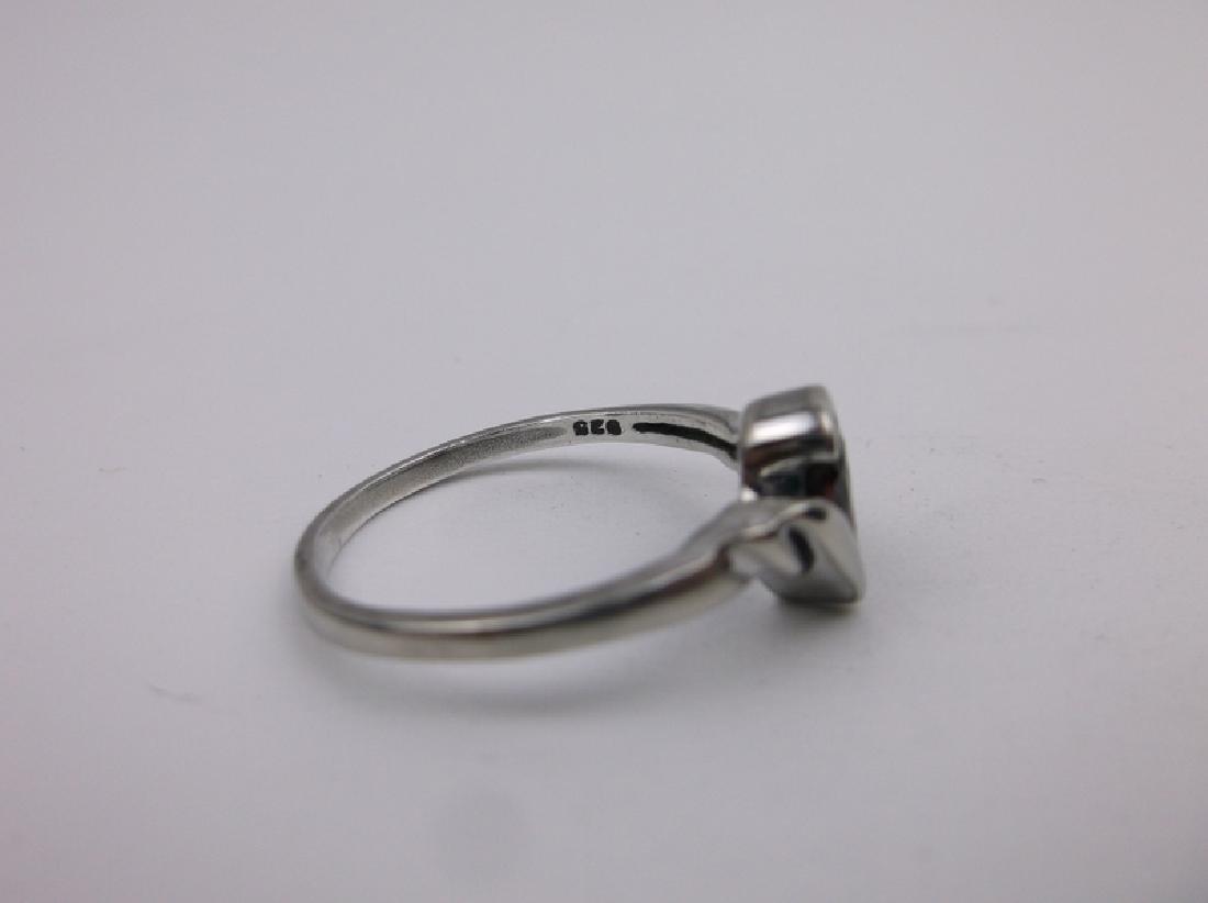 Gorgeous Sterling Silver Garnet Ring 9 - 2