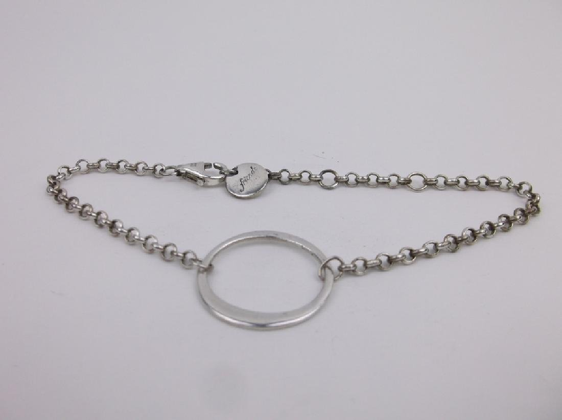 "Stunning Sterling Silver Chain Bracelet 8"""