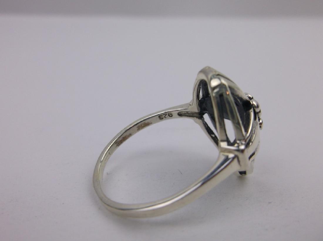 Stunning Sterling Silver Cross Ring 8 - 2