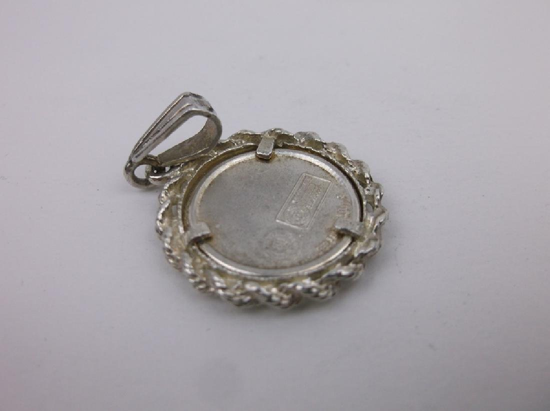 Stunning Sterling UK Wildcats Coin Pendant - 2