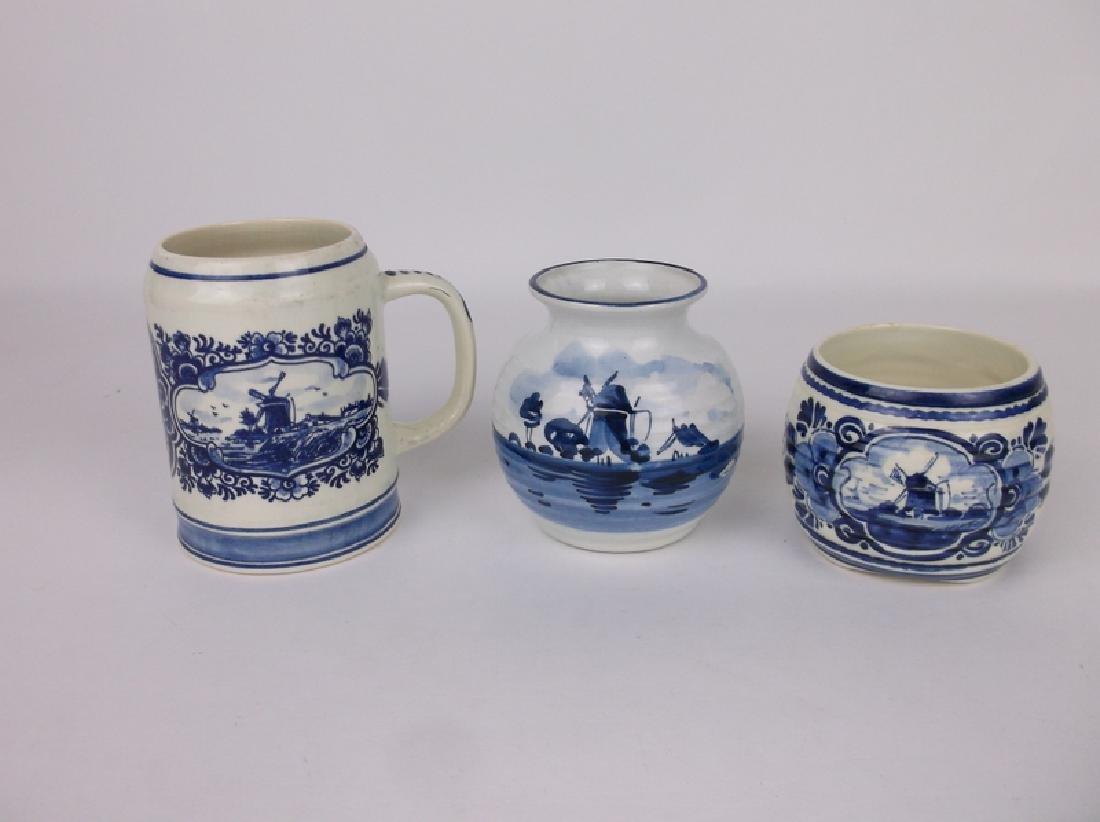 Gorgeous Blue Delft Pottery Collection