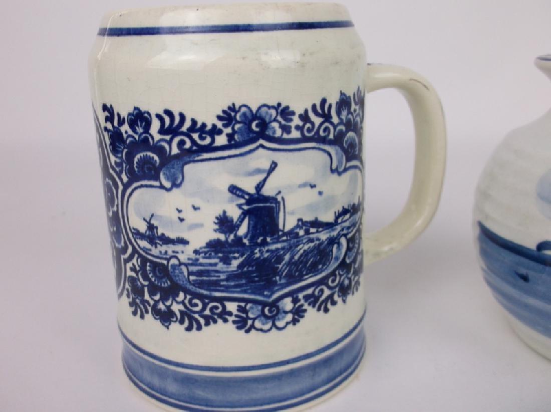 Gorgeous Blue Delft Pottery Collection - 3