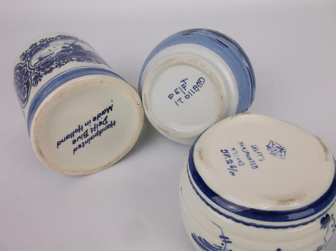 Gorgeous Blue Delft Pottery Collection - 4