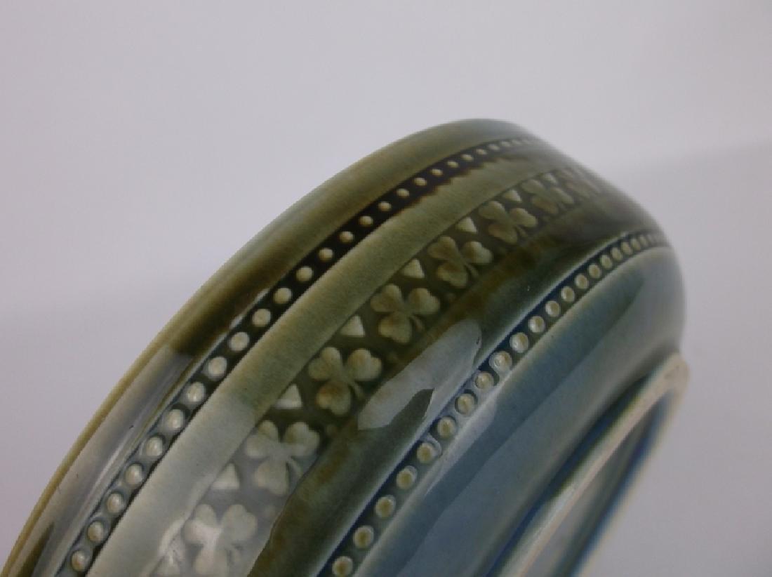 Stunning Wade Irish Porcelain Dish Clovers - 4