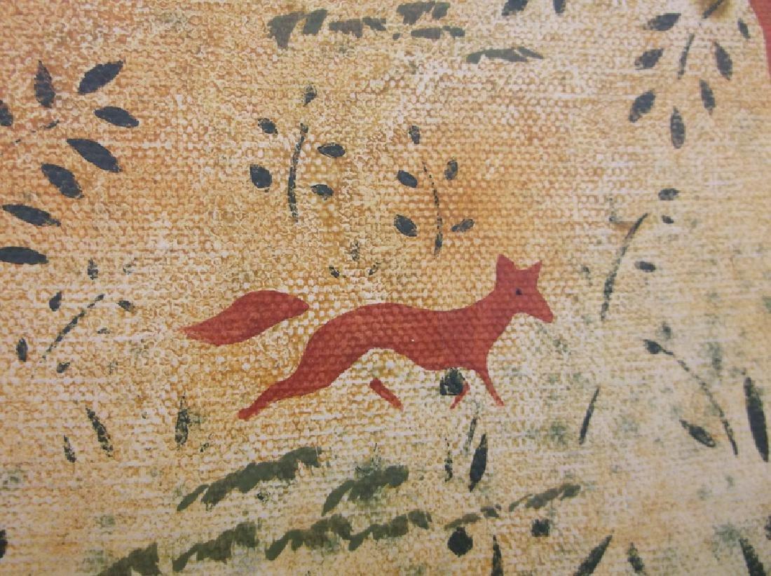 Original Christopher Gurshin Folk Art Painting - 2