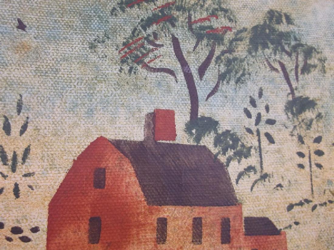Original Christopher Gurshin Folk Art Painting - 3