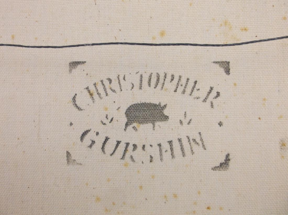 Original Christopher Gurshin Folk Art Painting - 7