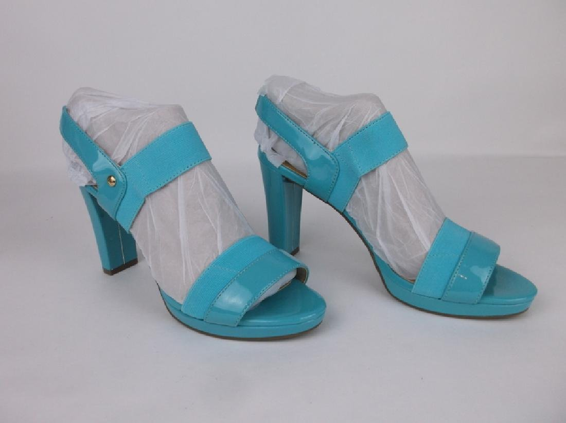 New Hot Blue Liz Claiborne Heels Size 8 - 2