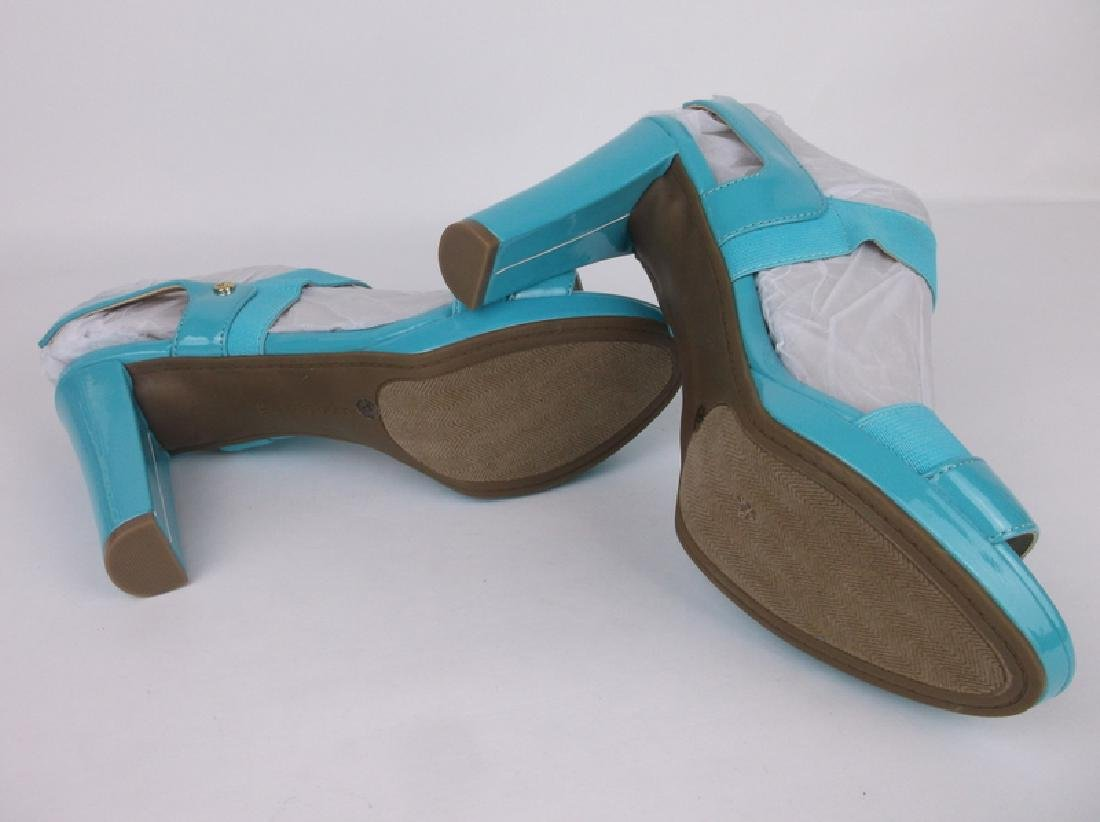 New Hot Blue Liz Claiborne Heels Size 8 - 3