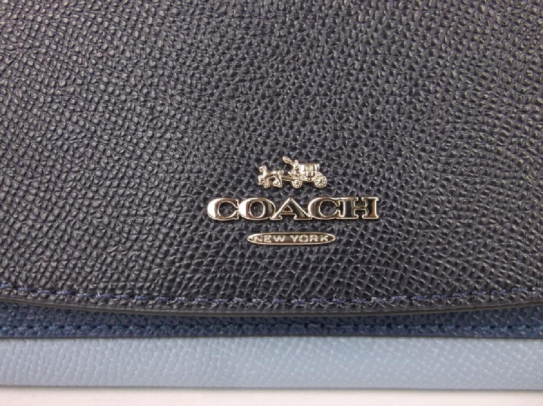 New Coach Blue Wallet - 2