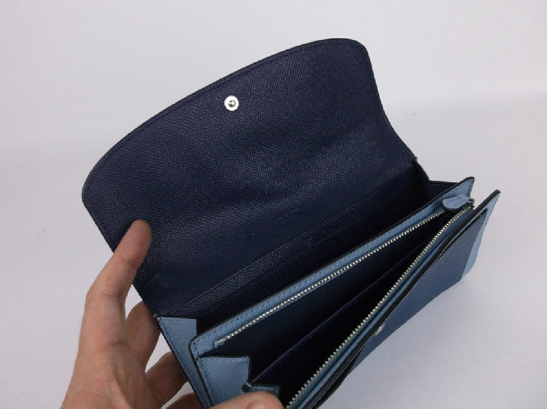 New Coach Blue Wallet - 3