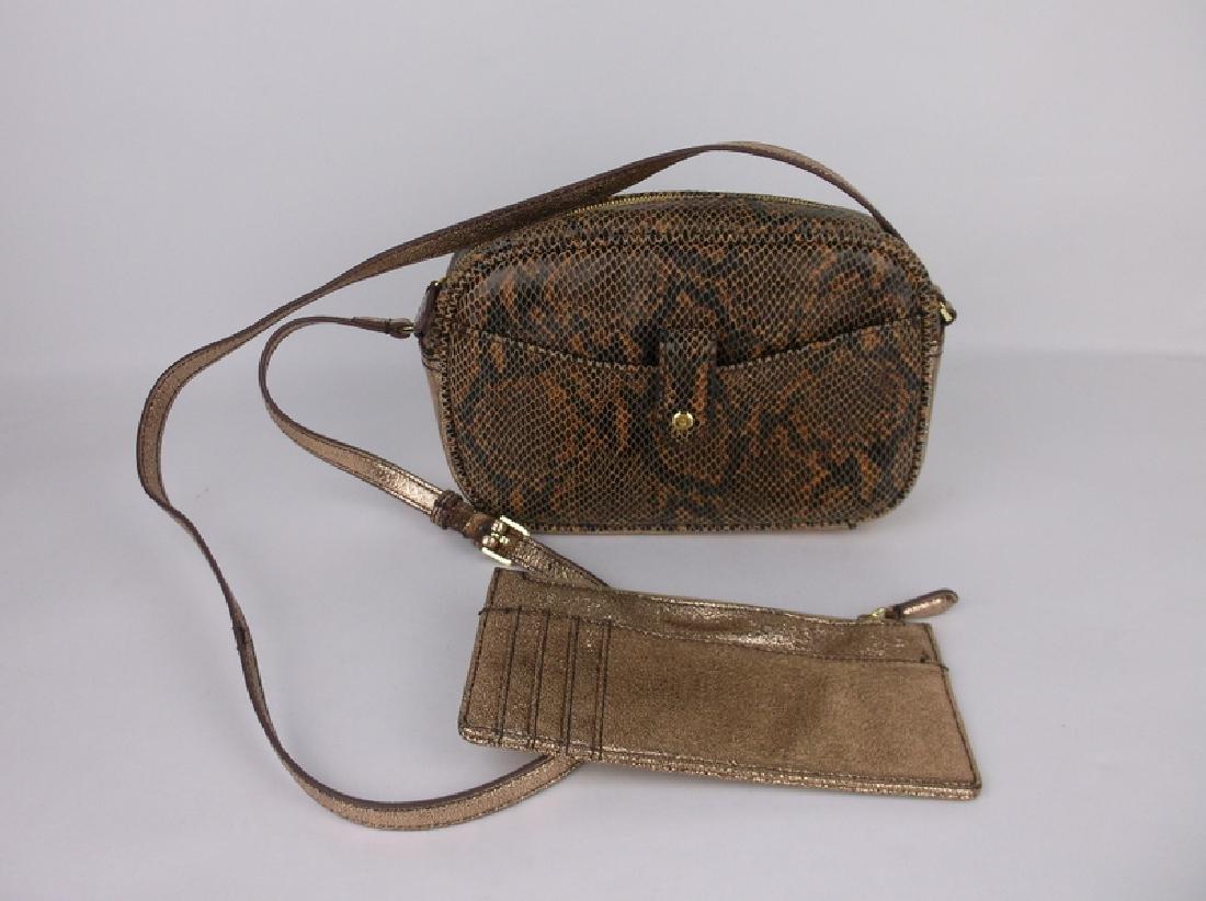 New G.I.L.I Leather Handbag Purse