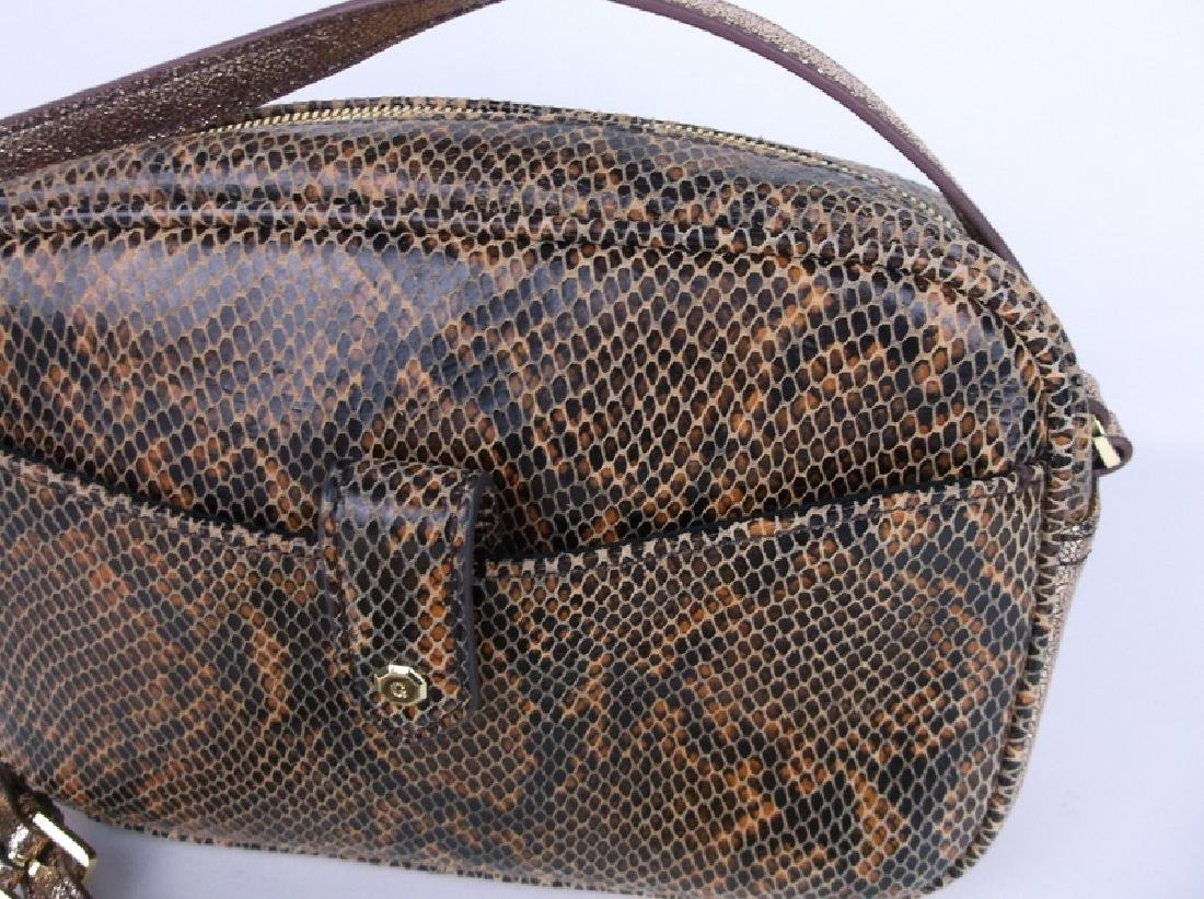 New G.I.L.I Leather Handbag Purse - 2