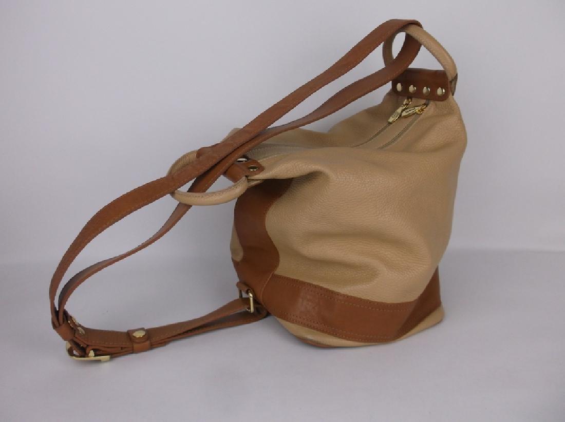 New Large Valentina Leather Handbag Purse Italian