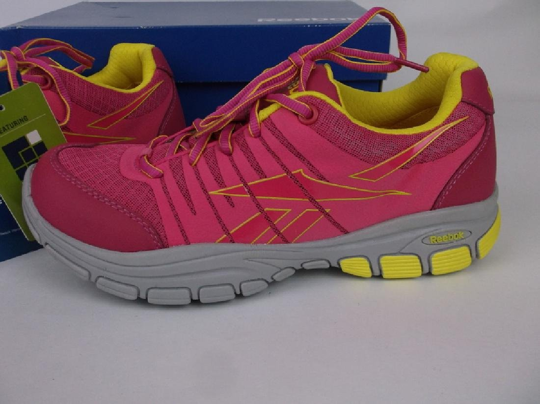 New In Box Womens Reebok Pink Shoes Size 10 - 2