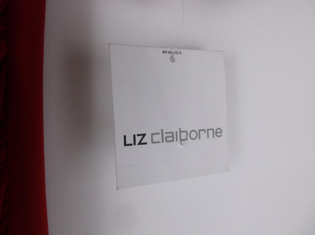 NWT New Liz Claiborne Red Dress Size 6 - 3