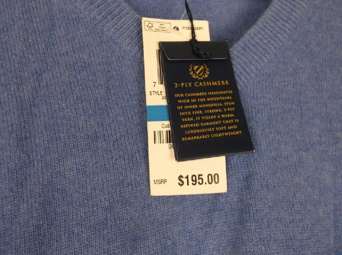 New Mens Club Room Cashmere Sweater XL $195 - 3
