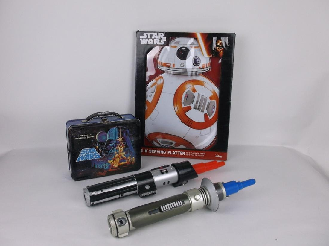 Star Wars Collection Light Sabers Lunchbox