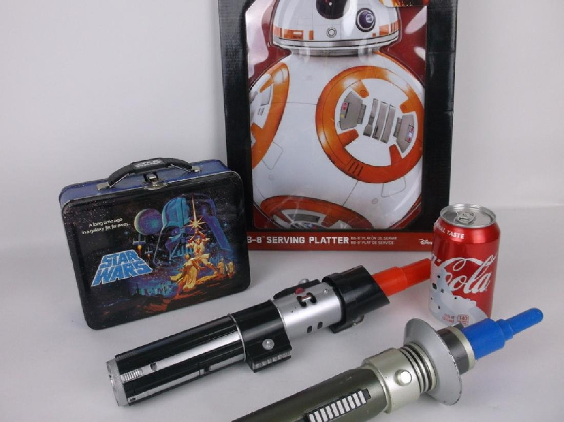 Star Wars Collection Light Sabers Lunchbox - 2
