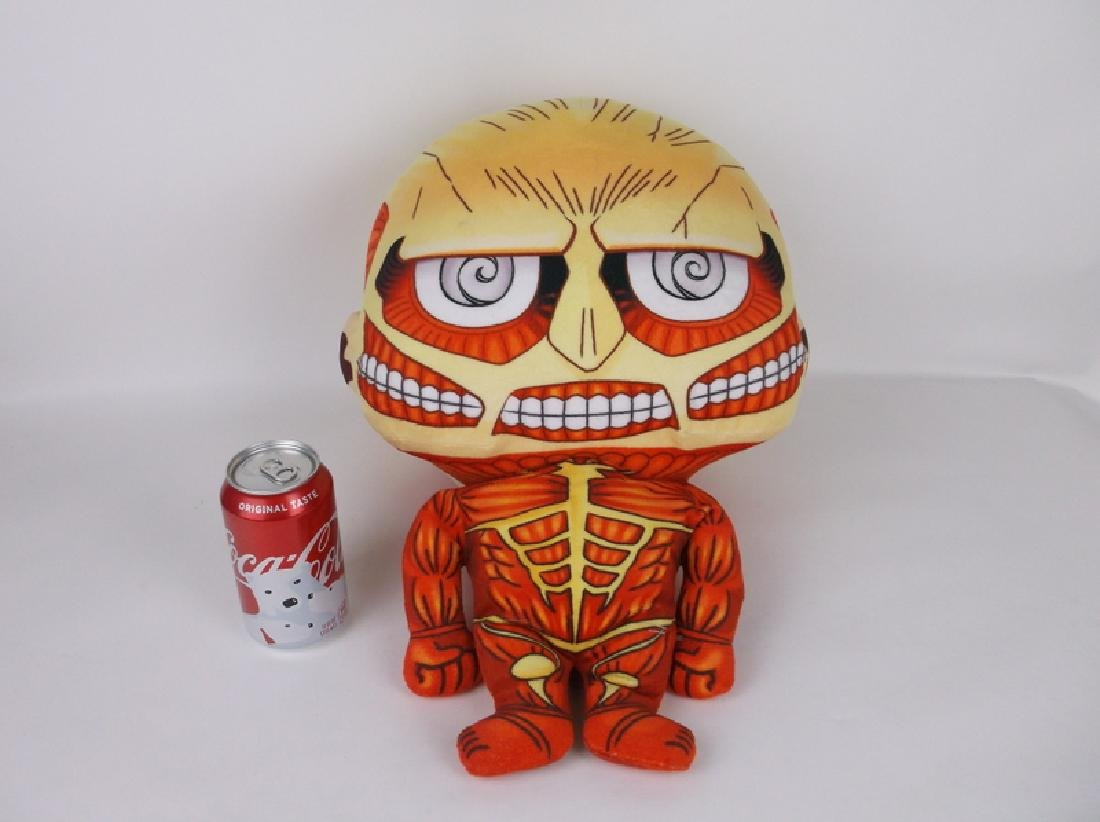 Huge New Attack on Titan Anime Plush