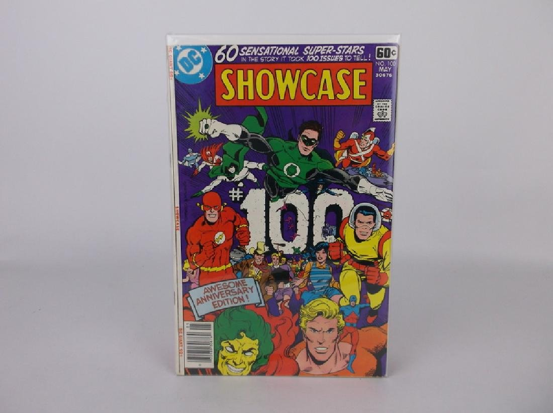 Nice 1978 DC Showcase Comic Book #100