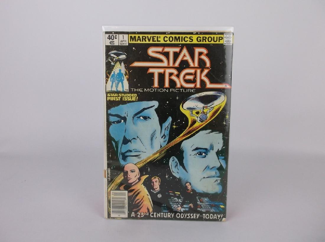 1970s Star Trek Comic Book #1 Marvel