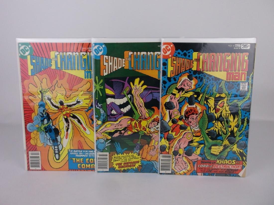 Nice 1970s DC Shade Comic Books 5-7 Changing Man
