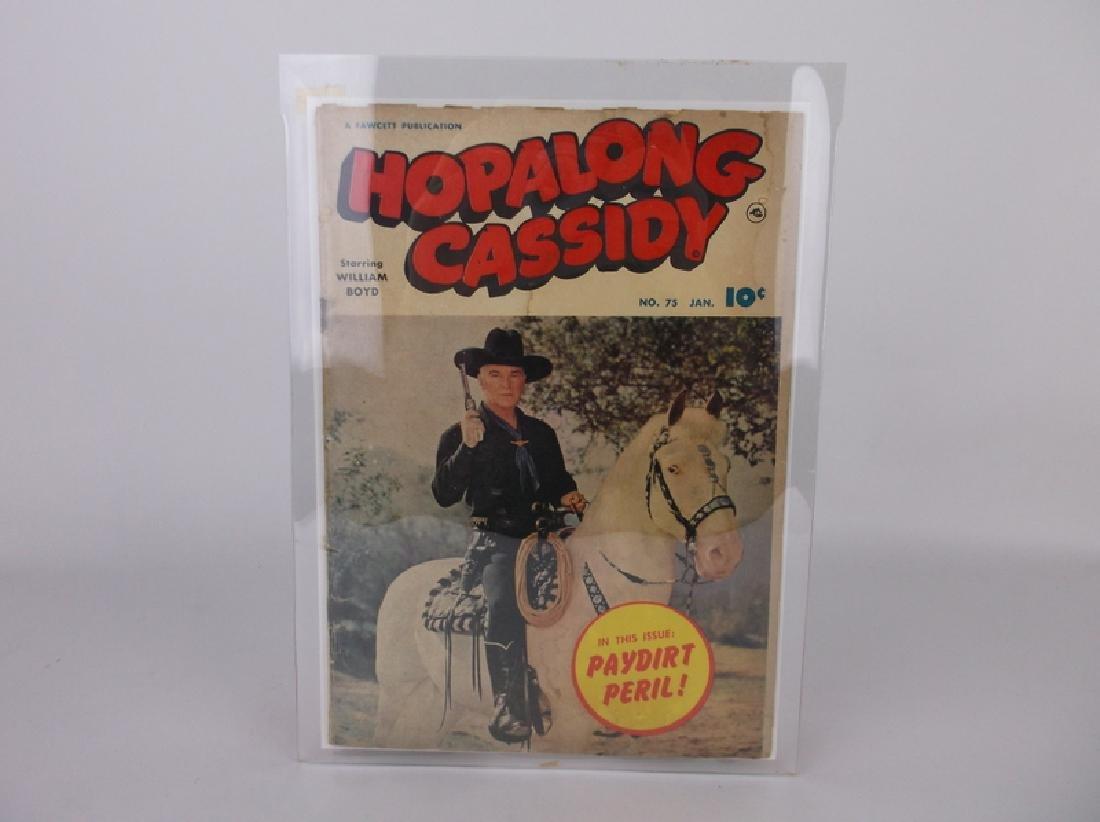 1953 Hopalong Cassidy Comic Book #75