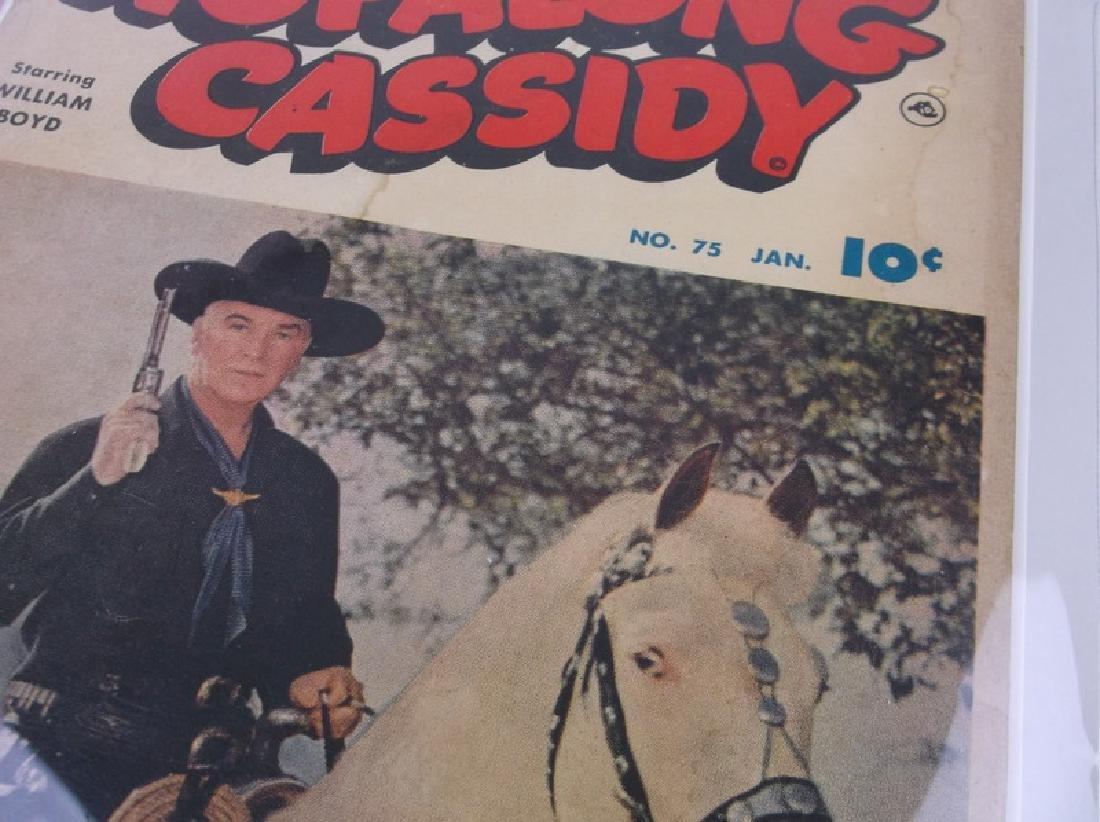 1953 Hopalong Cassidy Comic Book #75 - 2