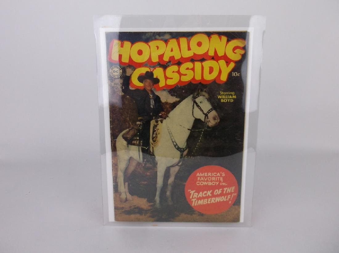 1954 DC Hopalong Cassidy Comic Book #91 Superboy