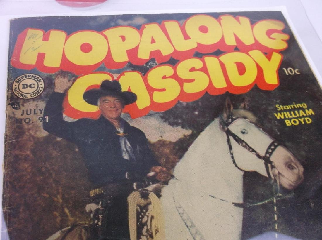 1954 DC Hopalong Cassidy Comic Book #91 Superboy - 2