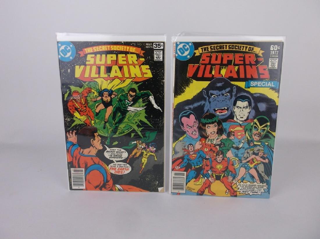 2 Nice 1977-78 DC Super Villians Comic Books #6 13