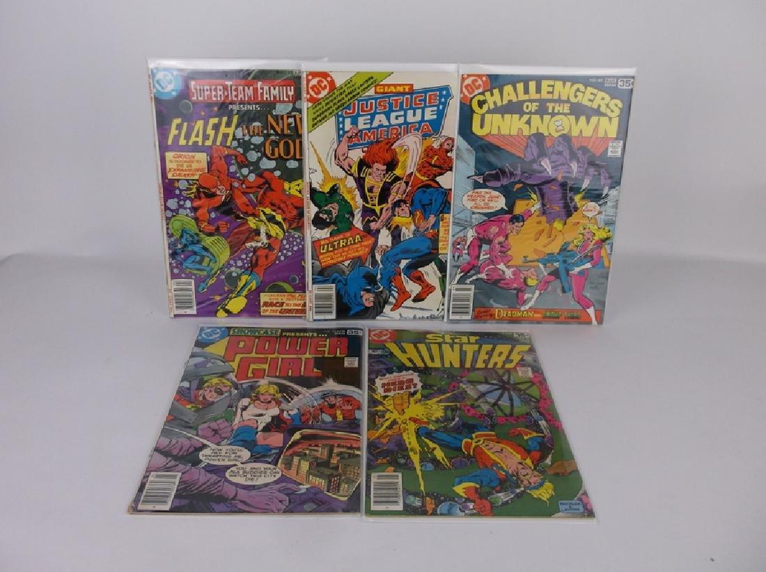 5 Nice 1970s DC Comic Books Flash & More