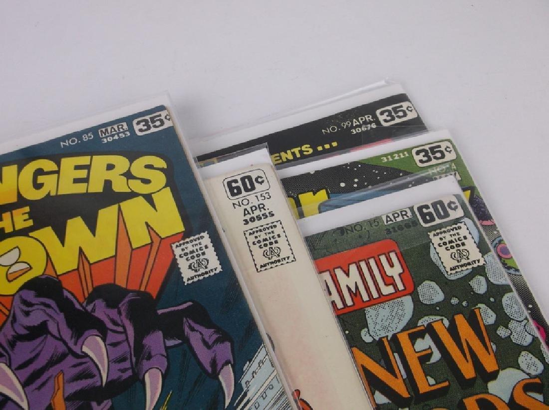 5 Nice 1970s DC Comic Books Flash & More - 2