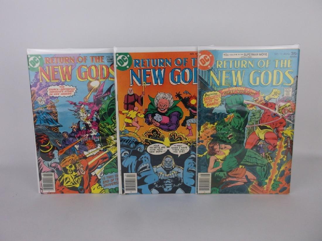 3 Nice 1978 DC New Gods Comic Books