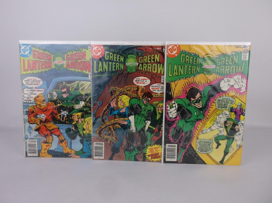 3 Nice 1978 DC Green Lantern Arrow Comic Books