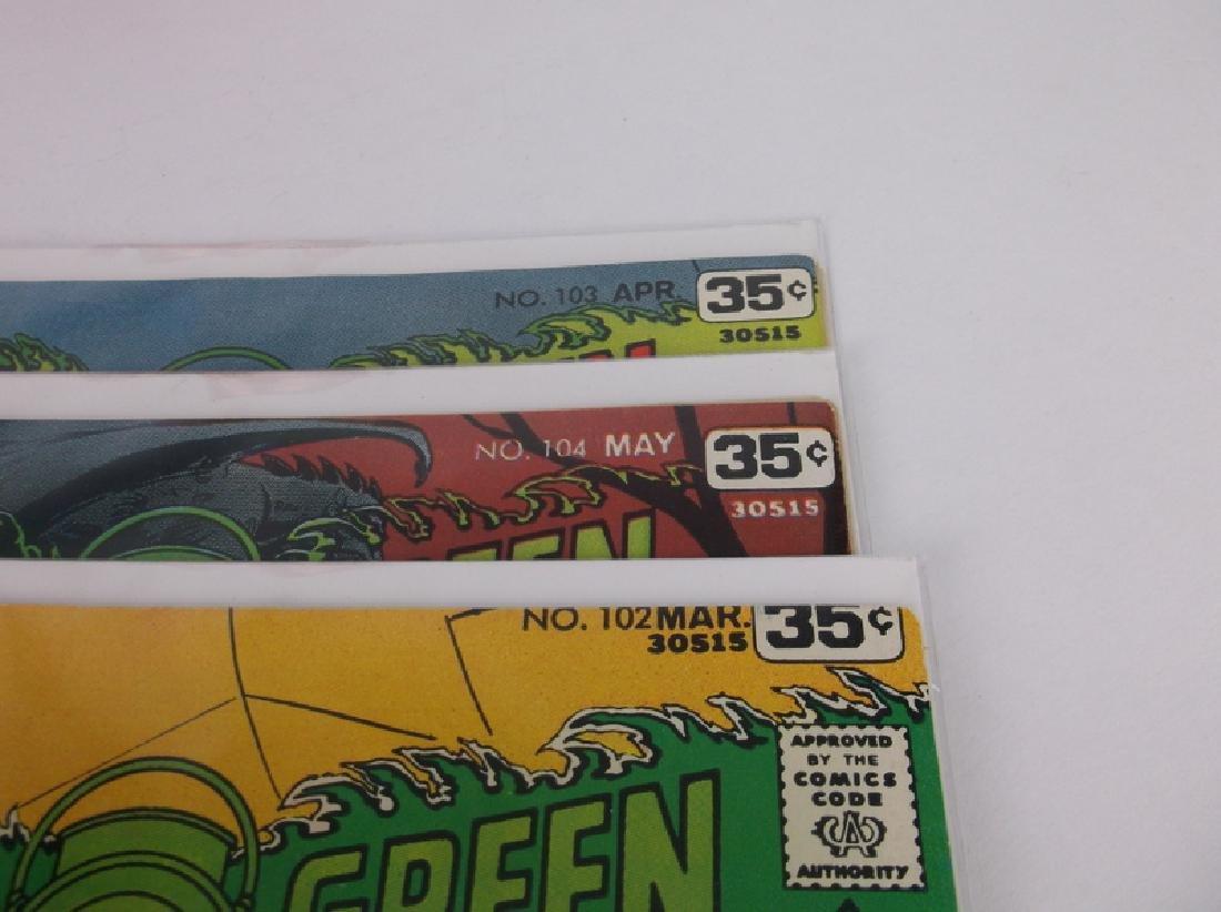 3 Nice 1978 DC Green Lantern Arrow Comic Books - 2