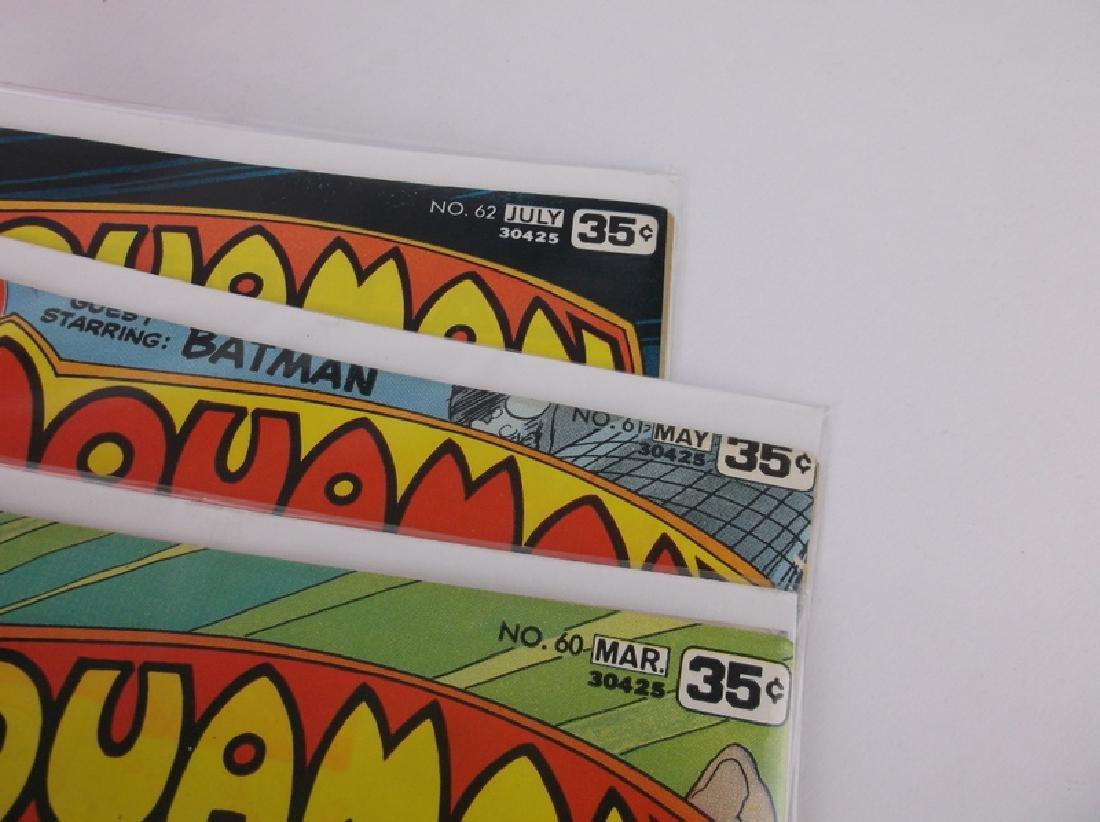3 Nice 1978 DC Aquaman Comic Books - 2